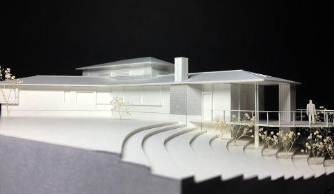 外観模型―森に浮かぶ船―