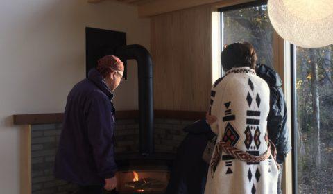火入れ式 ー薪ストーブのある暮らしー