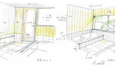 浴室の設計