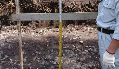 根伐底確認―浅間石出なかった―