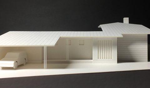 場に即した家のかたちー外観模型ー