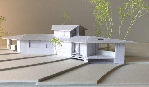 外観模型―環境を軽く囲う―