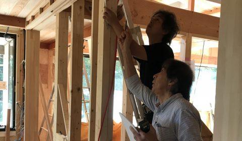 建具内法採寸―今や珍しい―