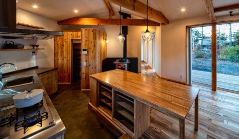 「キッチンスタジオのある家」ー建築実績にて公開ー