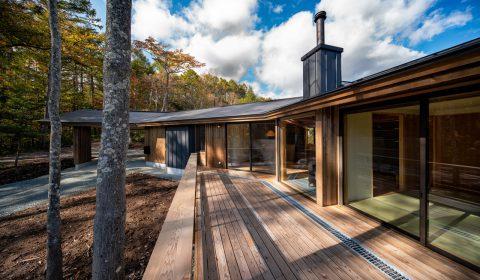 「まるざ屋根の家」ー建築実績にて公開ー