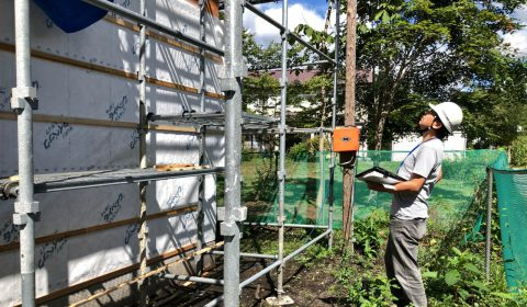 構造金物・防水検査 -客観的な目で-