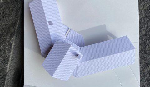 外観模型―環境を包み込む翼―