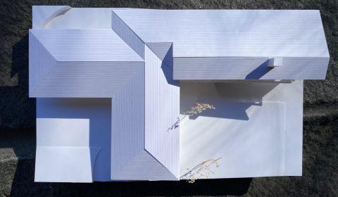 外観模型―水平線を強調―